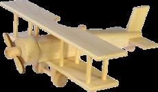Dřevěný-velký-dvouplošník