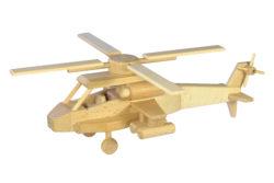Dřevěná helikoptéra