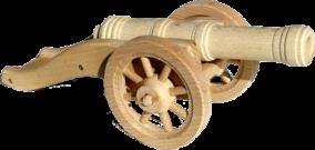 Dřevěné-těžké-polní-dělo