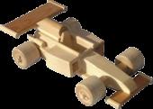 Dřevěná-formule 1
