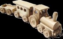 Dřevěný-osobní-vlak