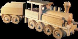 Dřevěná-parní-lokomotiva
