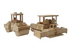 Dřevěný model-HAMM HD 90-Finisher